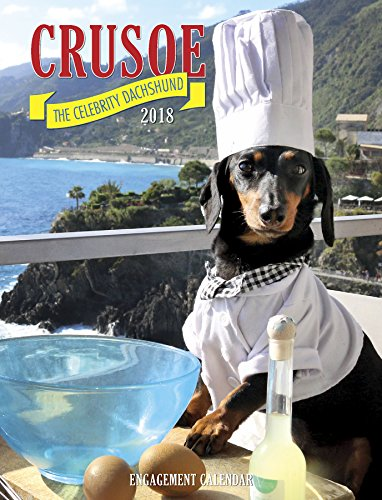 Crusoe the Celebrity Dachshund 2018 Engagement Calendar