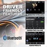 "BOSS Audio BV9986BI - In-Dash, Single DIN, Bluetooth, DVD/CD/MP3/USB/SD AM/FM Receiver, Motorized 7"" Touchscreen, Detachable Front Panel"