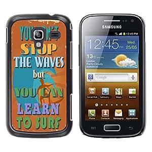 Dragon Case - FOR Samsung Galaxy Ace 2 - ?love who ignore us - Caja protectora de pl??stico duro de la cubierta Dise?¡Ào Slim Fit