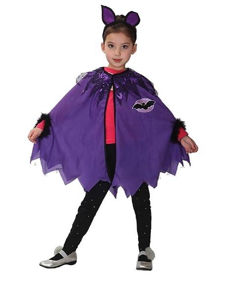 Lovelegis Disfraz de niña murciélago - murciélago - niña Batman ...