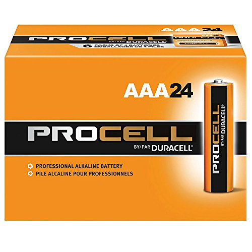 Duracell Procell AAA 48 Pack PC2400BKD09 (2kf7jc) by Duracell