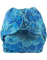 Buttons Cloth Diaper Cover - Newborn Snap (7-12lbs)