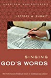img - for Singing God's Words: The Performance of Biblical Chant in Contemporary Judaism (American Musicspheres) book / textbook / text book