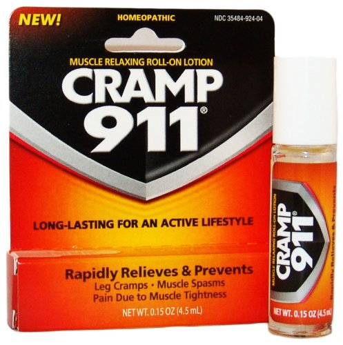 Cramp 911 Roll-On, Net Wt. 0.15 oz.(4.5 ml),  Box