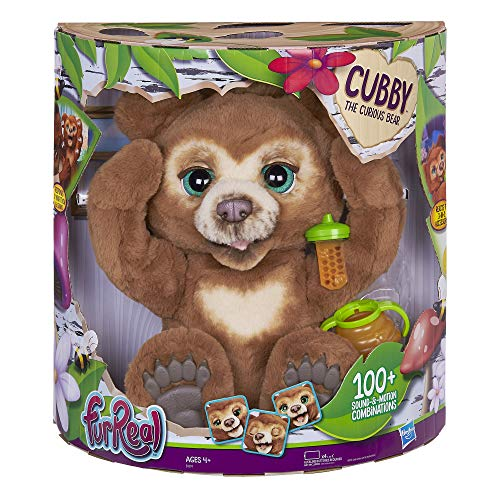 Cubby The Curious Bear is one of the new toys for girls for Christmas