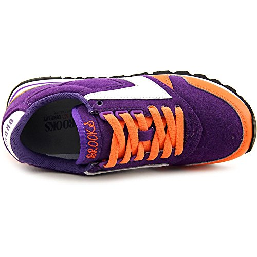 Brooks Dameswagen Oranje / Royal Paars / Wit