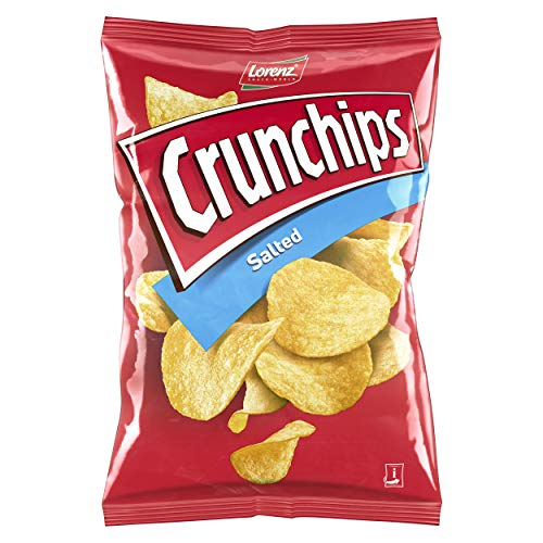 Lorenz Snack World Crunchips Salted, 175 g
