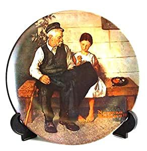 Knowles Norman Rockwell Heritage Collection The Lighthouse Keepers Daughter CP139