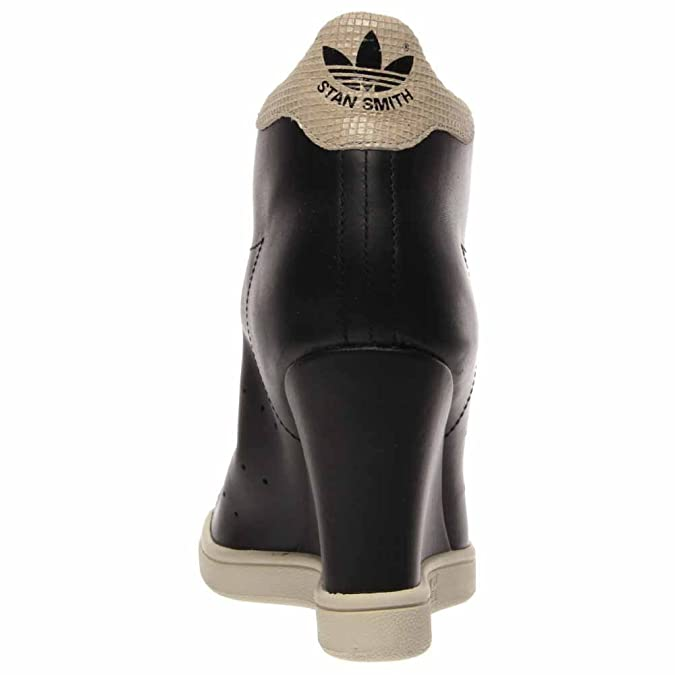 buy popular 5bad0 08921 adidas Stan Smith Up Women's Sneakers Size US 9.5, Regular Width, Color  Black/Cream
