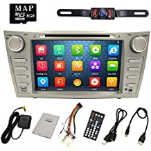HIZPO Camry Aurion Car DVD Player 2006 2007 2008 2009 2010 2011 GPS Navigation with Free map card DVD/CD USB SD...