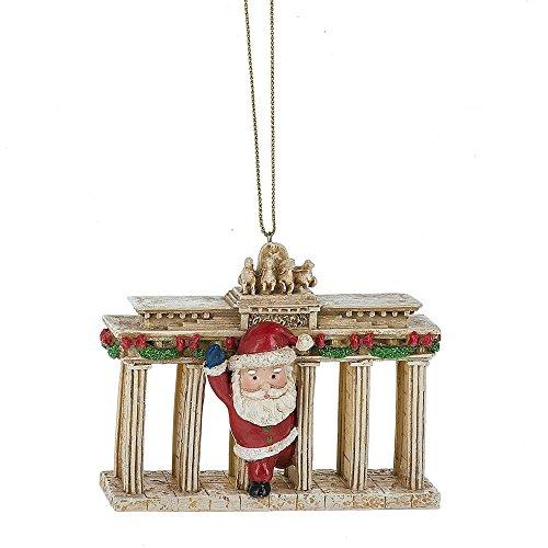 Santa at Brandenburg Gate Germany Travel (Brandenburg Gate)