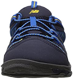 New Balance Boys\' Adirondack Fisherman Sandal, Navy/Blue, 5 M US Big Kid
