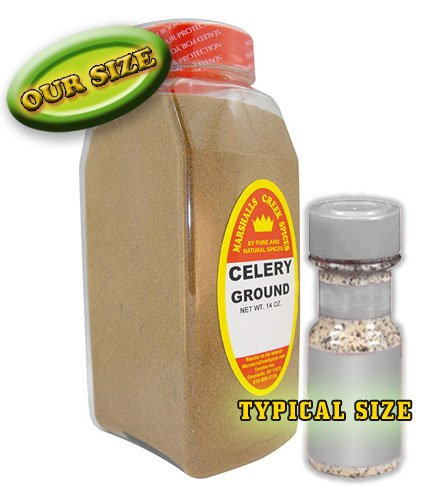 Marshalls Creek Spices Celery Seasoning, Ground, XL Size, 16 Ounce
