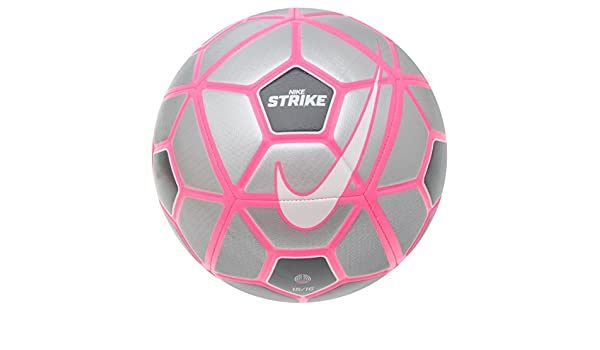 Nike Strike fútbol lobo gris/negro/rosa balón de fútbol, talla 5 ...
