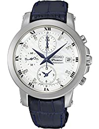 Seiko Premier SNDV59P2 Watch With kinetic movement