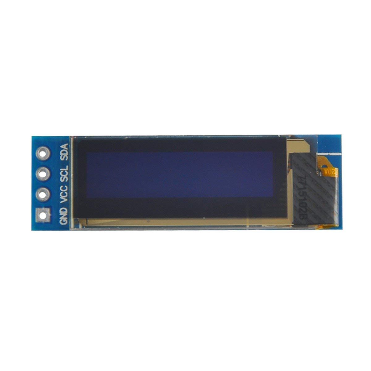 MakerFocus 2pcs I2C OLED Display Module 0 91 Inch I2C