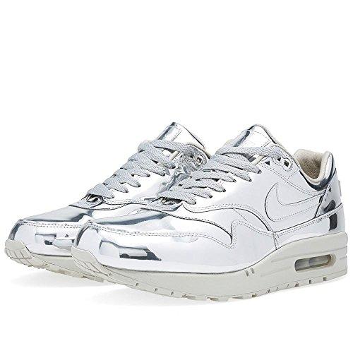 Nike plaid de la mujer vapor skort de golf Plateado - plata