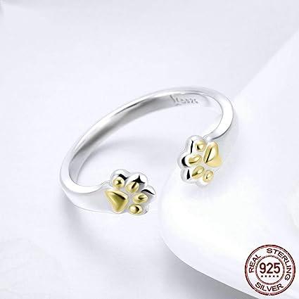 5c8afbb06e1 Amazon.com: AceFcion Sterling Silver 925 Rings Women Fashion Animal ...