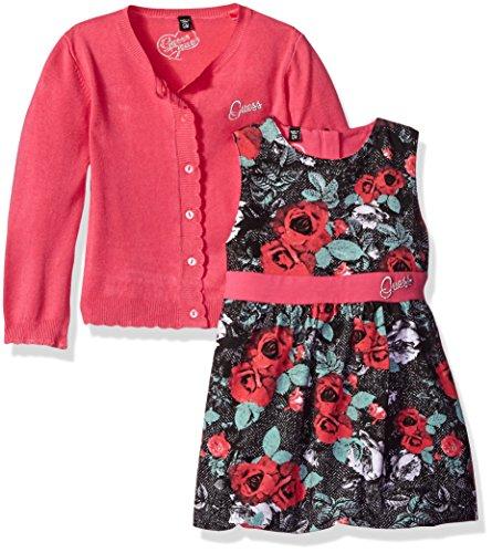 GUESS Girls Cardigan Sweater Dress