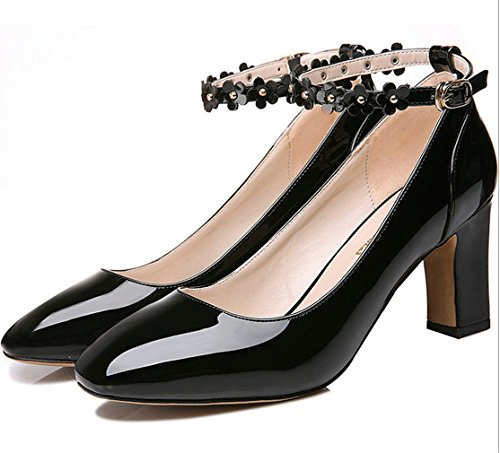 7 black WENDYWU Dress Fashion Pumps Shoes Women CaWWq6wpA