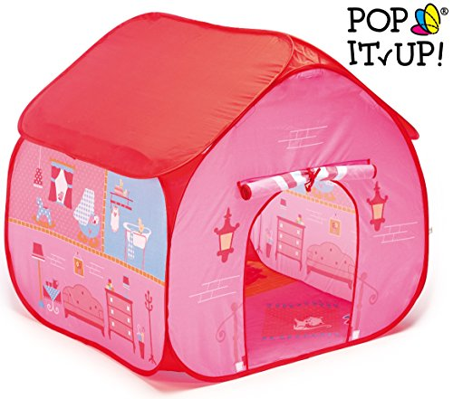 Fun2Give Pop-It-Up Dollhouse Tent with House Playmat Playhouse