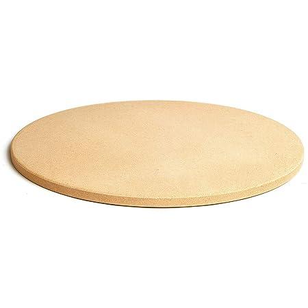 Gmsqj Piedra para Hornear Pizza De Parrilla Redonda Piedra De 10 ...