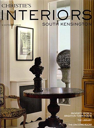 Read Online CHRISTIE'S Magazine Interiors 5 October 2010. South Kensington PDF