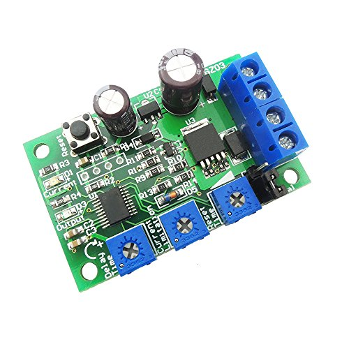 uniquegoods 12V 24V 6V-28V 5A DC Motor Speed Controller Over Current Protection Device Switch Short-circuit Blocking Autotuning overload Protecter Control - Controller Circuit Motor