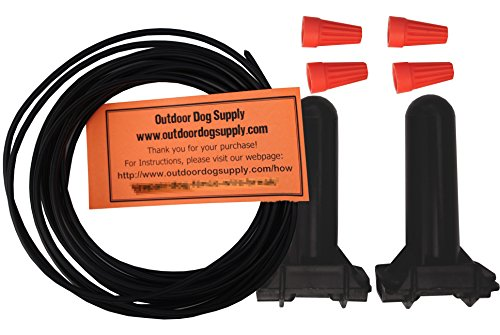 Outdoor Dog Supply Professional Grade Pet Fence Dog Fence Wire Repair Kit (25 ft)
