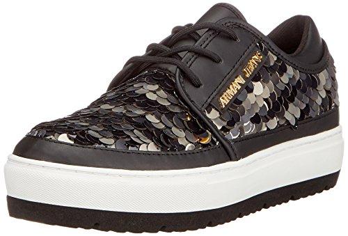 Bassa Sneaker Nero Donna Armani 00020 Nero HfdYqHwP