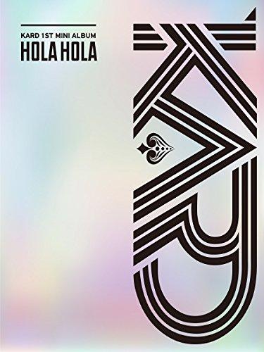 KARD - Hola Hola (1st Mini Album) CD+Photobook+Photocard+Folded Poster+Extra Photocard Set