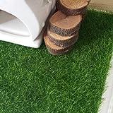 CDELEC 2PCS Micro Landscape DIY Mini Fairy Garden Simulation Plants Artificial Fake Moss Decorative Green Grass