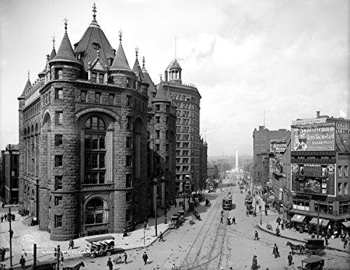 1908 Niagara Street, Buffalo, New York Vintage Photograph 8.5