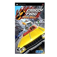 Crazy Taxi: Fare Wars - Sony PSP