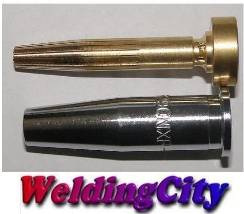 Propylene Cutting Tip - WeldingCity Propylene Cutting Tip 6290NXP #00 6290NXP-00 Size 00 for Harris Oxyfuel Torch