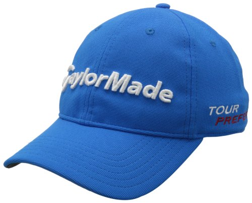 TaylorMade Tour Radar Relaxed Hat, Blue, Adjustable