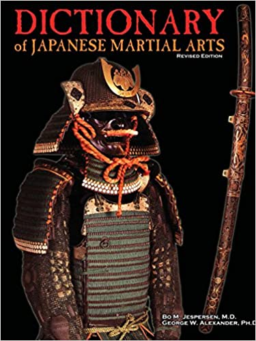Book Dictionary of Japanese Martial Arts