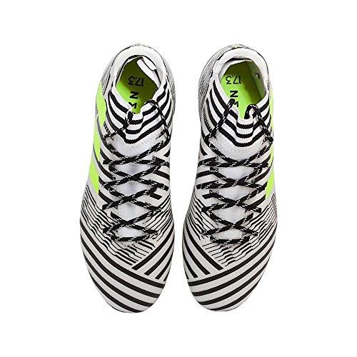 adidas Nemeziz 17.3 Ag, Botas de Fútbol para Hombre Blanco (Ftwbla/Amasol/Negbas)