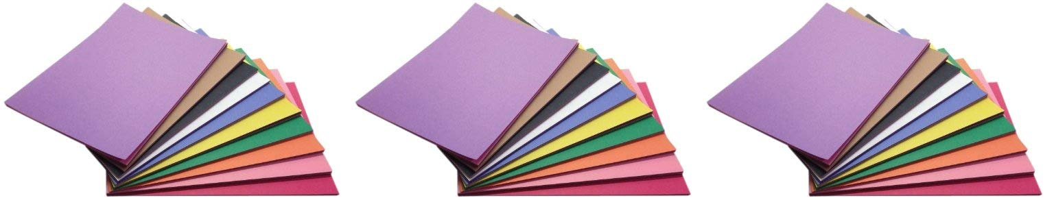 Childcraft Construction Paper, 9 x 12 Inches, Assorted Colors, 500 Sheets (Тhrее Расk)