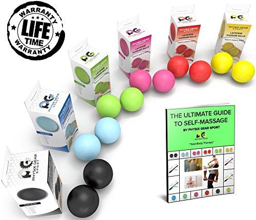 Premium Trigger Point Massage Balls - Get The Best Foot Massager & Deep Tissue Stress Therapy Tools - Acupressure