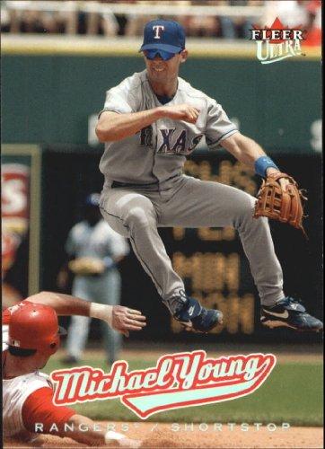 2005 Fleer Ultra Baseball Card #157 Michael Young Mint