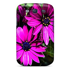 FaG352ekGx Snap On Case Cover Skin For Galaxy S3(purple Daisy)