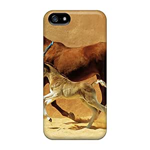 Snap-on Cases Designed For Iphone 5/5s- Mare And Foal