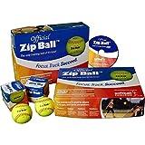 Softball Excellence Zip Ball Training Aid Kit - (12 Balls) w