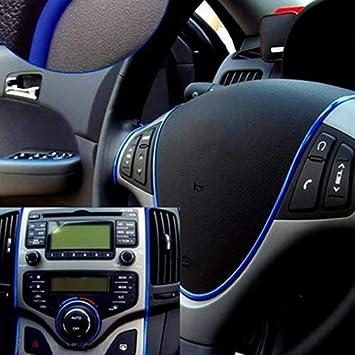 LUYANhapy9 Car Interior Accessories Fashion Universal Car Accessories 3M Interior Exterior DIY Molding Decoration Trim Strip Car Decoration Gift