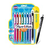 Paper Mate 1945921 InkJoy 300RT Retractable Ballpoint Pens, Medium Point, Assorted Colors, 8 Count