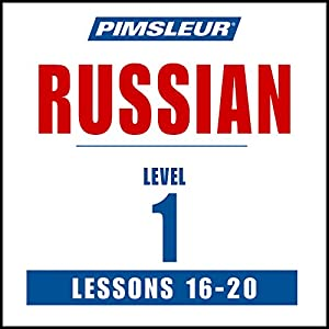 Russian Level 1 Lessons 16-20 Speech