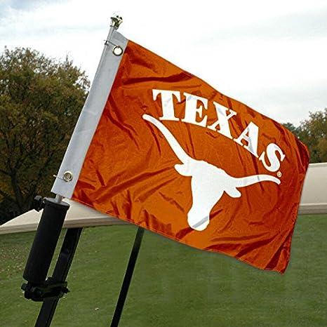Universidad de Texas Carrito de golf y bandera de barco: Amazon.es: Deportes y aire libre