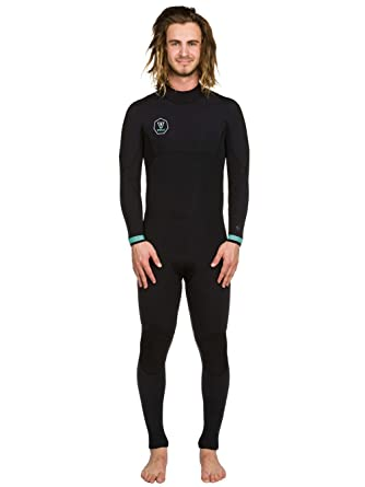 d99091f414 Wetsuit long Men Vissla Seven Seas 4/3 Full Back Zip Wetsuit: Amazon ...