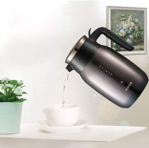 2L Vacuum Flask Insulate Heat Icy Bottle Thermal Coffee Tea Milk Pot Home Kettle